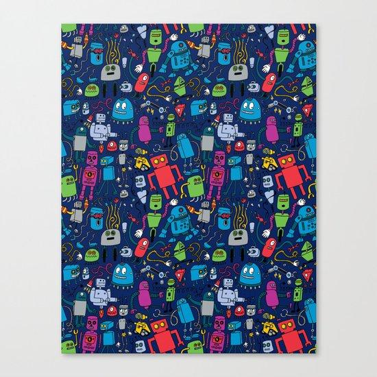Robots Forever! Canvas Print