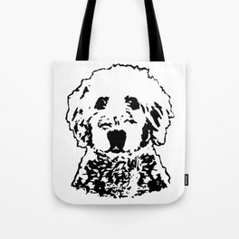 Goldendoodle Dog Tote Bag