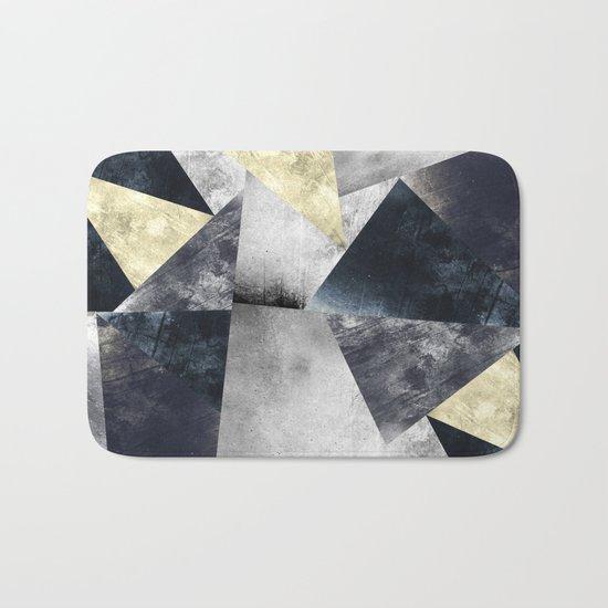 Geometric Pattern  Bath Mat