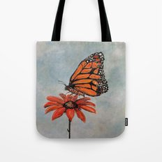 Majestic Monarch Butterfly Tote Bag
