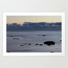 The Shore Art Print
