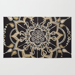 Silver & Gold Rug