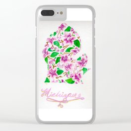 Apple of the Mitten Clear iPhone Case