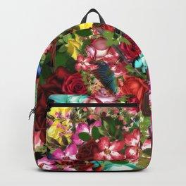flowers vintage Backpack