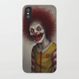 Ronald McDonald iPhone Case