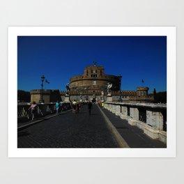 Castel Sant'Angelo, Rome, Italy Art Print