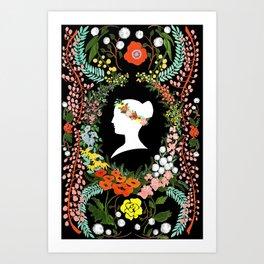 Language of Flowers  Art Print