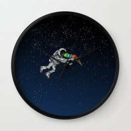 Spacetime Sadness Wall Clock