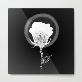 Isaiah 40:8 (Inverted) Metal Print