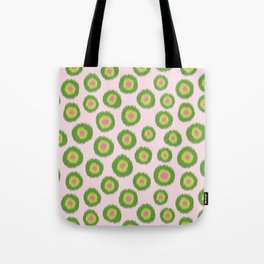 Candy is Dandy Ikat-Preppy colors Tote Bag