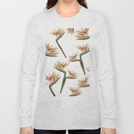 Birds of Paradise Flowers 2 Long Sleeve T-shirt