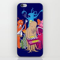space jam iPhone & iPod Skins featuring Space Jam by Morbid Illusion