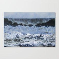 Wave After Wave Canvas Print