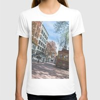 vancouver T-shirts featuring Downtown Vancouver  by Jody_Waardenburg