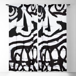 Graffiti 16 Blackout Curtain