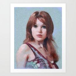 Madeline Smith Art Print