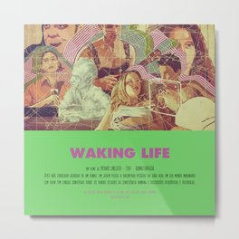 Waking Life - Richard Linklater Metal Print
