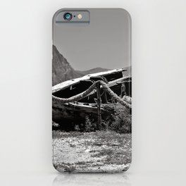 Abandoned Tuna Fisherman Port in Sicily iPhone Case