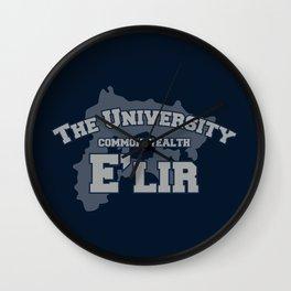 The University: E'lir Wall Clock