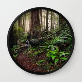 Forest of the Giants Wall Clock