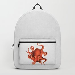 Octopus - Watercolor Backpack