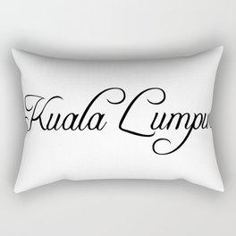 Kuala Lumpur Rectangular Pillow