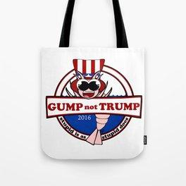 Gump not Trump Tote Bag