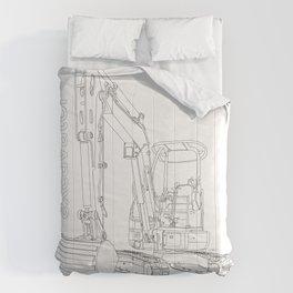 Mini Excavator Comforters