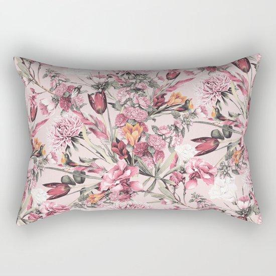 RPE FLORAL XI PINK Rectangular Pillow