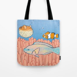 Fish Day Tote Bag