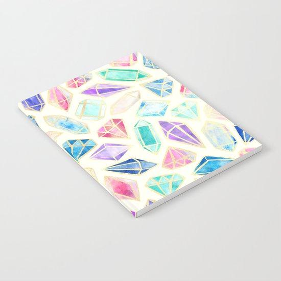 Watercolor Gems Intense Notebook