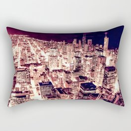 Chicago NightLight Rectangular Pillow