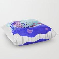 Tiny Worlds - Cinnabar Island Floor Pillow