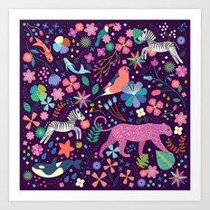 Wild Art Print