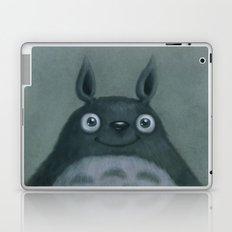 The Silver Fluffhugger Laptop & iPad Skin