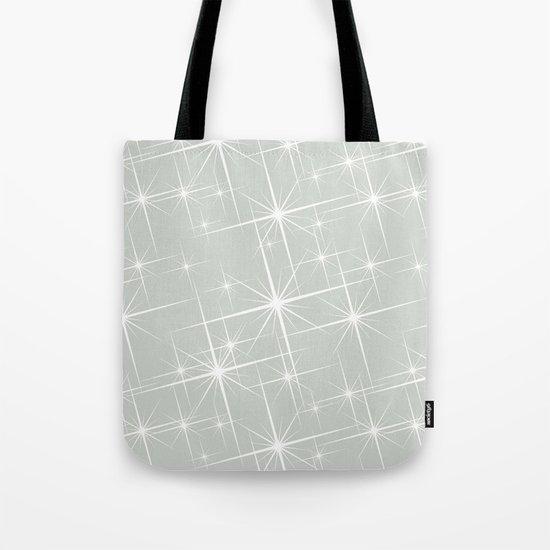 Gray Grey Glitters Sea Salt Tote Bag
