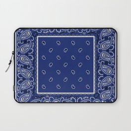Classic Royal Blue Bandana Laptop Sleeve