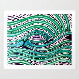 One Birds Eye View Art Print