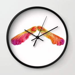 Canadian Roots by Teresa Thompson Wall Clock