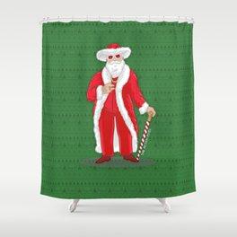 Big Pimpin' Santa Shower Curtain