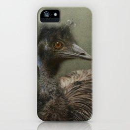 A happy Emu iPhone Case