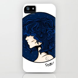 Lady Moon iPhone Case