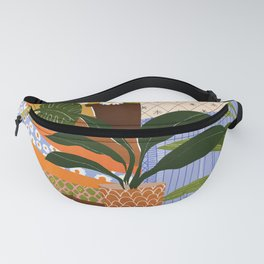 Vintage Staircase Fanny Pack