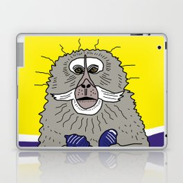 Dreaming of a better place: Marcel the monkey Laptop & iPad Skin