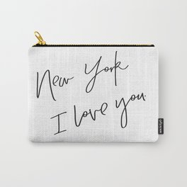 New York I love You Carry-All Pouch