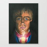 les miserables Canvas Prints featuring Les Miserables  by Allison Gossett