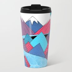 Blue Sky River Metal Travel Mug