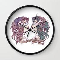 gypsy Wall Clocks featuring Gypsy by Pilotinta