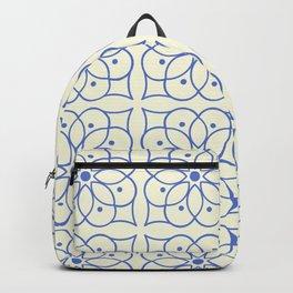 Fashion Flower Pattern Art Print Backpack