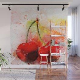 Cherry Wall Mural